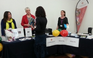 St John of God Murdoch Hospital caregivers met with many visitors at the Fremantle Women's Health and Wellbeing Day.