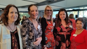 L- R Associate Professor Cathy Fetherston Murdoch University, Lecturer Prue Andrus Murdoch University, L&D Facilitator Sarah Anderson, Nursing Programs Coordinator Jessica Vinci and Manager Learning and Organisational Development Anissa Emeran.