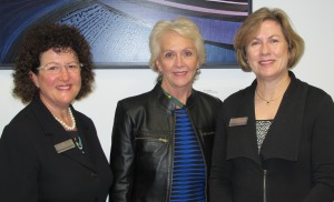 Professor Leanne Monterosso. CEO St John of God Foundation Josephine Board and Dr Gail Ross-Adjie.