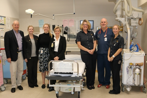 Some of the emergency department team at St John of God Murdoch Hospital.