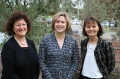 Professor Leanne Monterosso, Dr Gail Ross-Adjie and Alexis Cranfield.